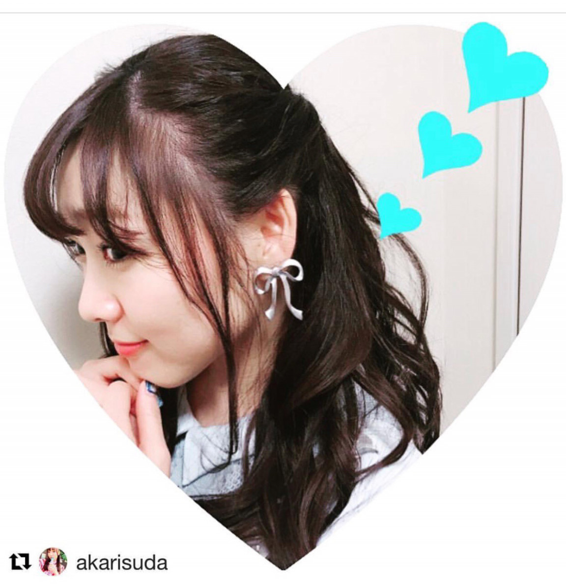 AKB48須田亜香里様ご着用頂きました