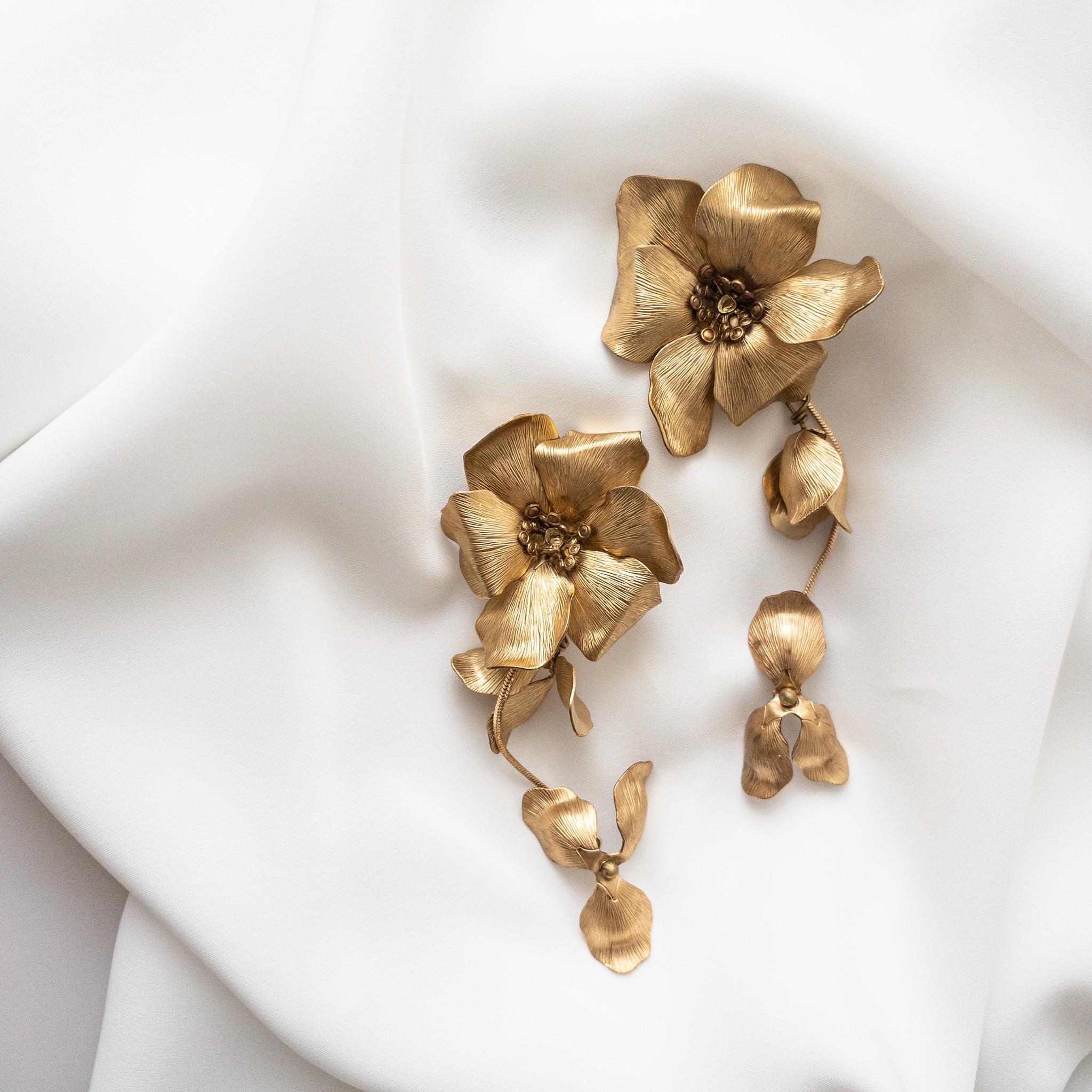 flua Pierce/Earrings